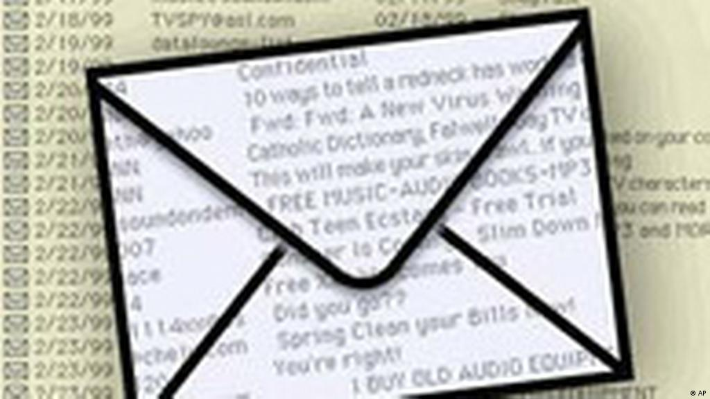 Spam e-mails pose major threat to internet security   Science  In