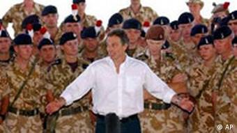 Tony Blair in Irak