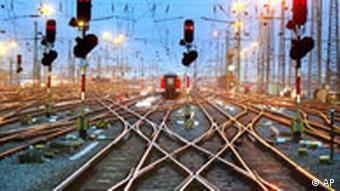 Deutsche Bahn Geleise