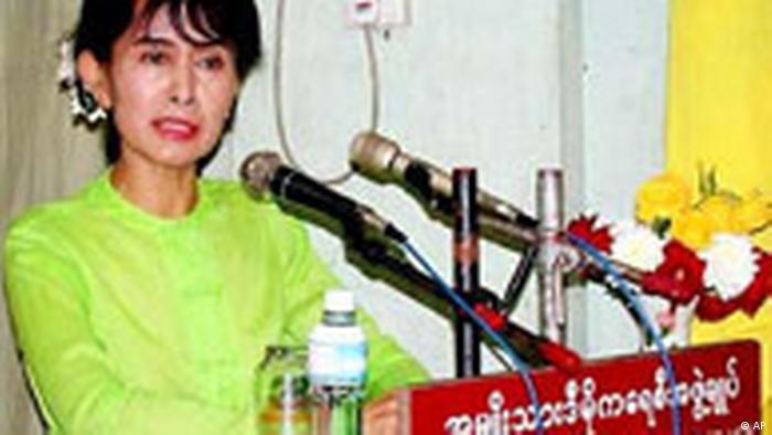 Aung San Suu Kyi verhaftet (AP)