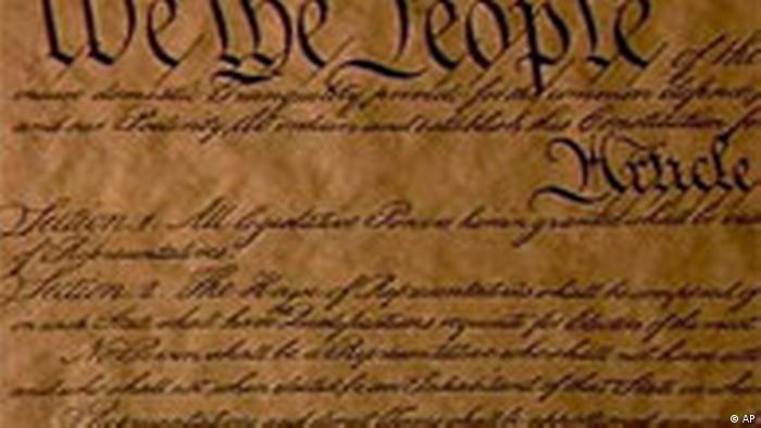 USA Verfassung (AP)