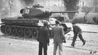 17. Juni 1953, Aufstand in Berlin, Panzer