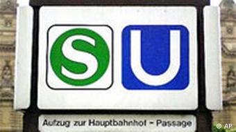 Frankfurt Verkehr S-Bahn U-Bahn