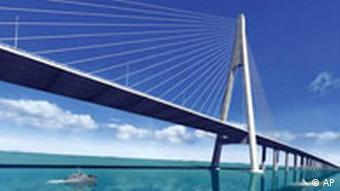 China baut Ozean-Brücke