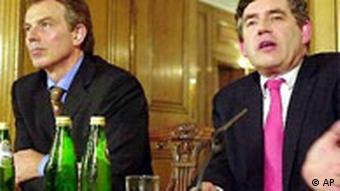 Tony Blair und Gordon Brown