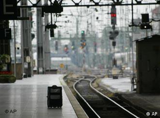 На главном вокзале Кельна