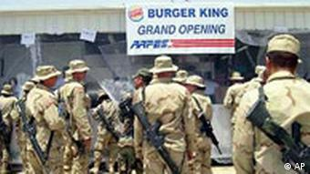 Burger King in Bagdad