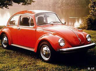 Un escarabajo clásico: toda una leyenda.