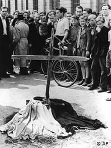 Opfer des Volksaufstandes
