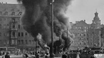 Proteste in Leipzig am 17. Juni 1953