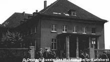 Offizierskasino der Pionierschule I, Berlin-Karlshorst, am 8. Mai 1945 - der Ort der Unterzeichnung der Kapitulation Deutschlands im 2. Weltkrieg Quelle: Deutsch-Russisches Museum, Berlin-Karlshorst