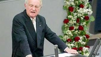17. Juni Jahrestag Bundestag Johannes Rau