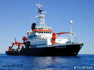 Barco de investigaciones Meteor.