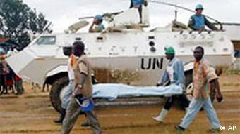 UN Soldaten in Kongo