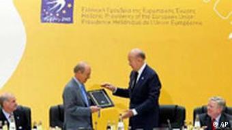 Μαζί με τον Κ. Σημίτη στην Συνάντηση Κορυφής τον Ιούνιο 2003 στο Πόρτο Καρράς