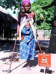 Landminen in Mosambik