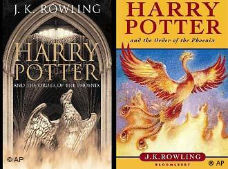 Naslovnica knjige Harry Potter And The Order Of The Phoenix