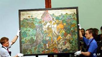 Egon Schiele Gemälde versteigert