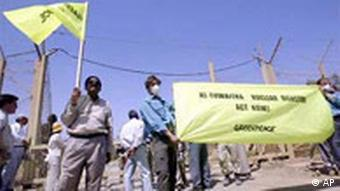 Greenpeace Demonstration in Tuwaitha