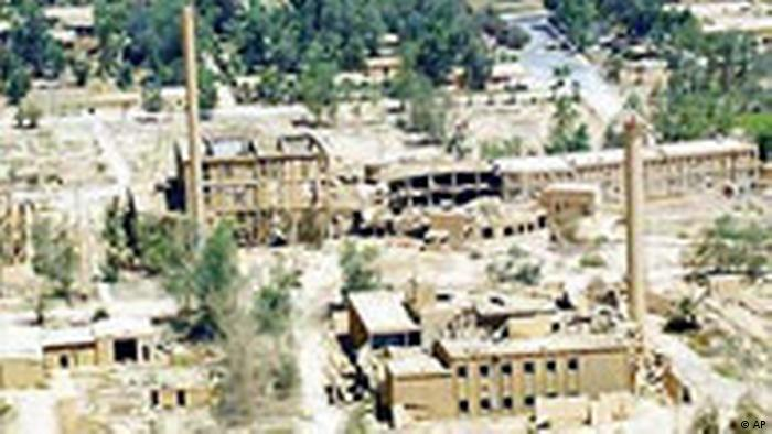 Luftbild Atomanlage in Tuwaitha (AP)