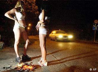 Prostitutas en Budapest.