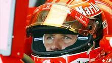 Schumacher Saison 2003 Nürburgring Michael Schumacher