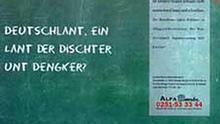 Deutschlant, ein Lant der Dischter unt Dengker?