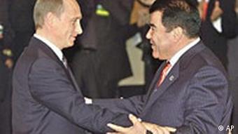 2002 год, Владимир Путин и Сапармурат Ниязов