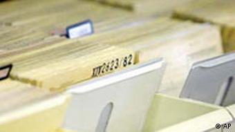 Stasi Akten Kartei
