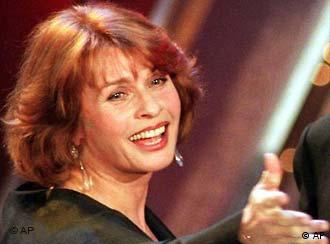 Senta Berger am 14.02.96 in Berlin