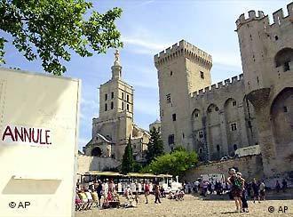 Avignon: densa programação alemã
