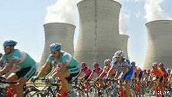 Tour de France Atomkraftwerk