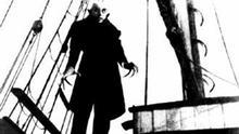 Nosferatu, Filmszene des legendären Stummfilms von F.W. Murnau (1922)