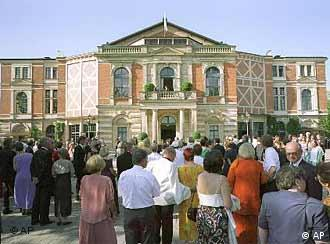 Festival theater building in Bayreuth