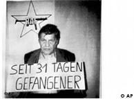 Hanns-Martin Schleyer als Gefangener der RAF, Quelle: AP