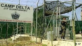 Guantanamo Camp Delta Eingang