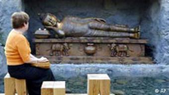 Buddha in Bremen Botanika