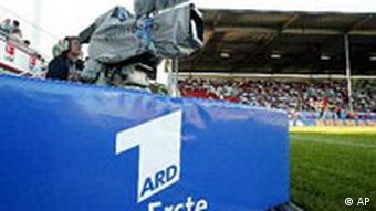 Kamera ARD-a na nogometnom terenu u Mainzu