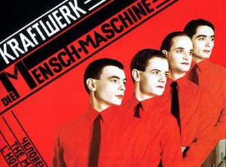Kraftwerk CD cover Mensch-Maschine