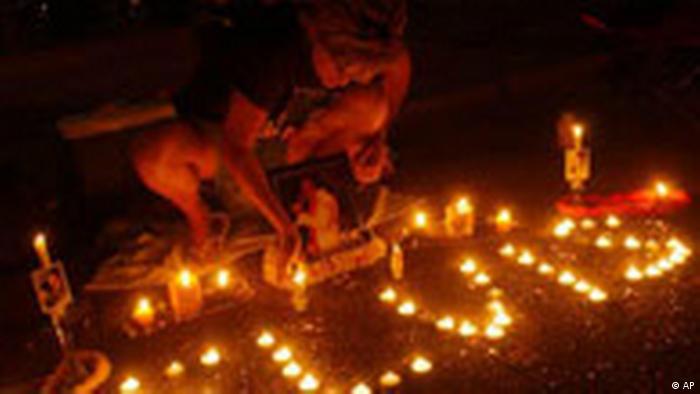 Elvis candles at Graceland (AP)