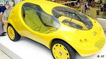 Colani Ausstellung in Erfurt Auto
