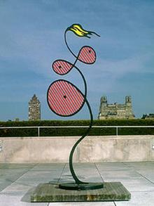 Ausstellungstipps Tipps vom 28. August 2003 Roy Liechtenstein on the roof