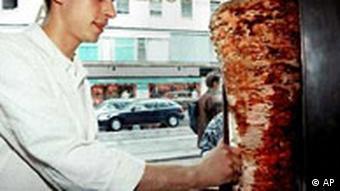 Döner Kebab Imbiss in München