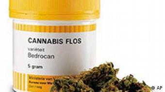 Marijuana in prescription bottle