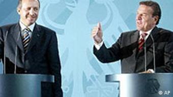 Schröder und Erdogan, Berlin 2003