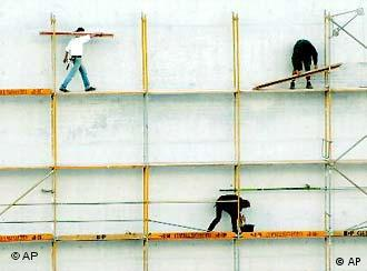 Construction is one of the few sectors with a minimum wage