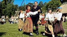 Tanz Folklore Gruppe in Estland