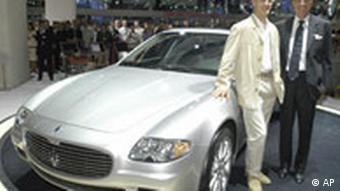 Maserati Quattroporte Internationale Automobilausstellung IAA in Frankfurt 2003