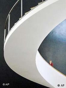 Opernhaus in Erfurt Eröffnung Treppe