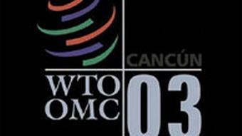 WTO Ministerkonferenz in Cancun Logo
